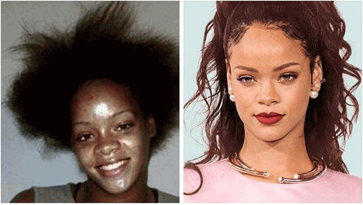 L 39 argent fait le bonheur de rihanna si vous en doutez regardez sa photo - Rihanna avant apres ...