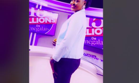Ndeye Petaw L'animatrice De La 7 Tv  Qu'on Ne Présente Plus