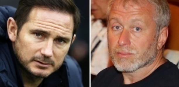Abramovich justifie le limogeage de Frank Lampard