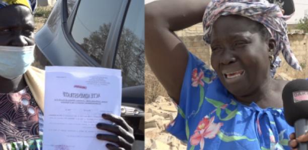 Victime de démolition: Ngagne Pouye offre un terrain à Marie Gomis à Pout