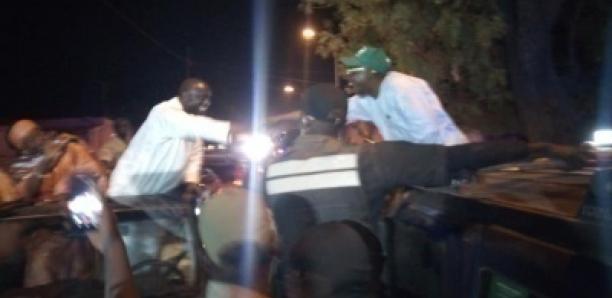 Photos. La poignée de mains drissa Seck- Issa Sall à Kaffrine
