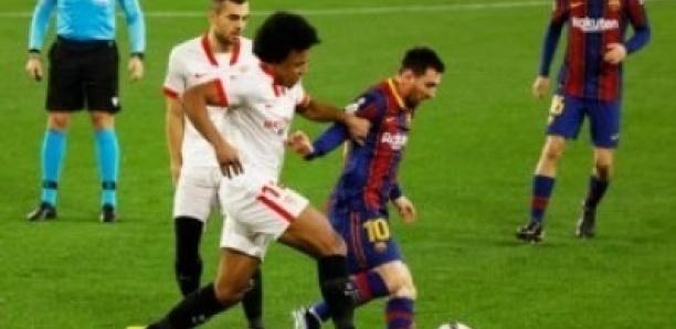 Coupe du Roi : le Barça perd la première manche à Séville