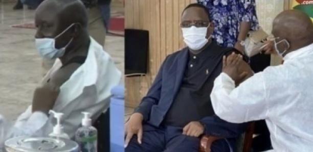 la Vaccination de Macky Sall et Idrissa Seck