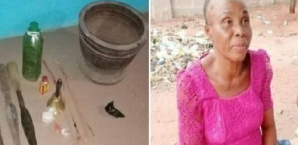 Une prophétesse qui pile les enfants vivants dans un mortier arrêtée