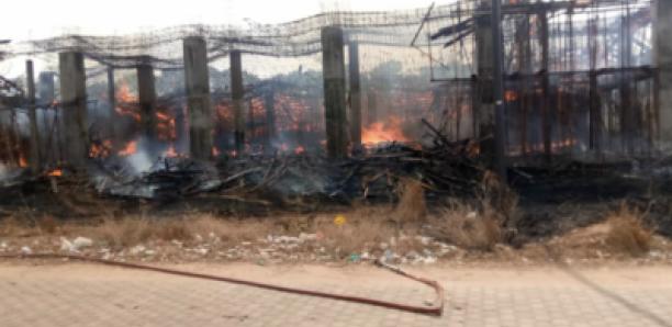 Les chantiers de l'Université Assane Seck de Ziguinchor brulés