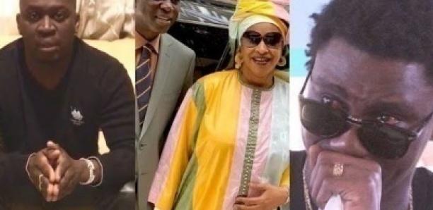 L'émouvant message du fils Aîné de Papa Thione, Lamine Nar à Wally Seck et maman Diaga