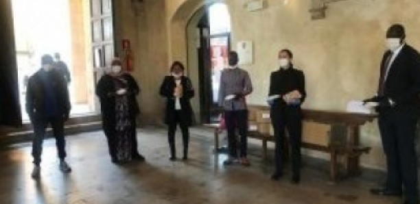 Italie – Covid-19 : Don de la communauté sénégalaise à la mairie de Pise