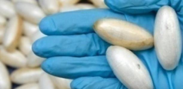 Trafic de drogue: une mule nigériane arrêtée avec 22 boulettes de cocaïne