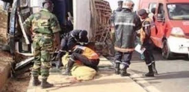 Axe Darou MouhtyTouba: Un accident fait un mort et 8 blessés