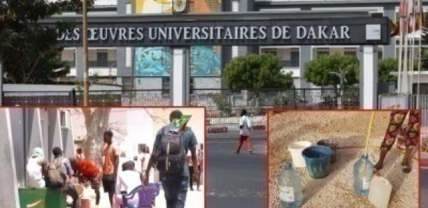 Ramadan et manque d'eau à l'UCAD : Le calvaire des étudiants !