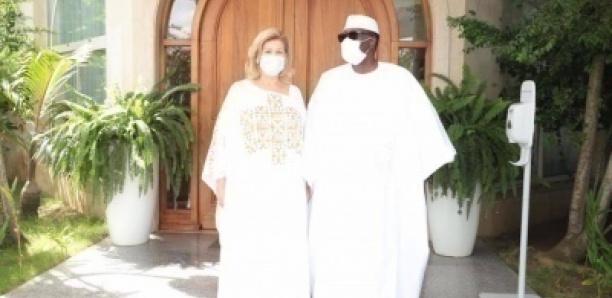 Korité en Côte d'Ivoire: Ouattara a prié chez lui