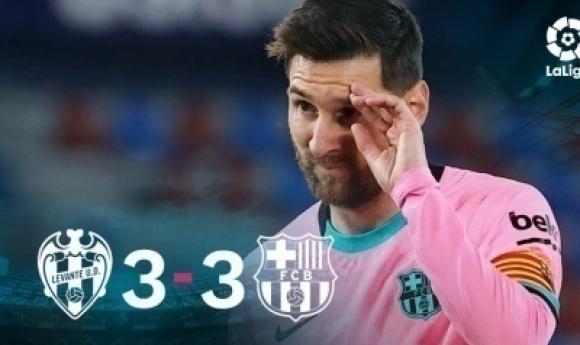 Liga : Le Titre S'envole Pour Le Barça Après Son Nul à Levante