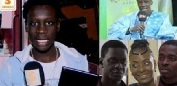"Ngor, acteur dans Adja:""Louniouy wakh si Marodi fake news la… Kouma nara takali ak Doudou dagay.."""