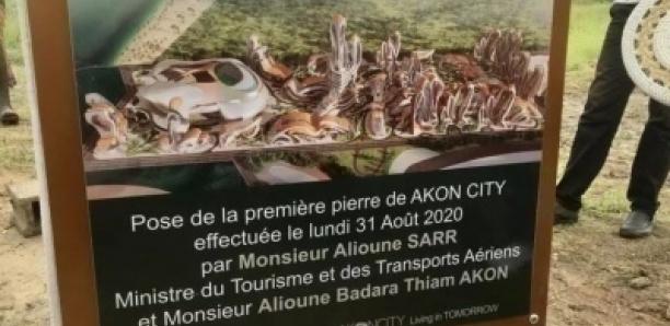 Projet Akon City : il n'y a ni ouvrier, ni brique, ni machine sur le chantier