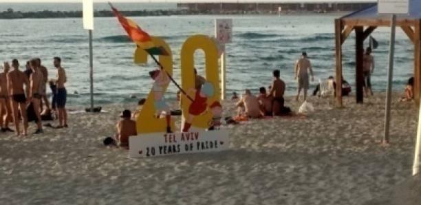 Tel-Aviv : Le drapeau du Sénégal à la Gay Pride, le dernier vendredi du Ramadan !