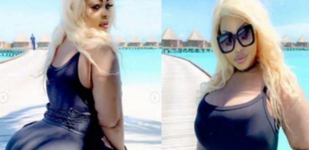 Eudoxie Yao en mode vacances aux Maldives pour son anniversaire