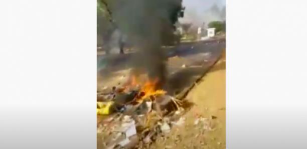 L'axe Tivaouane - Thiès: La route bloquée par les chauffeurs en colère