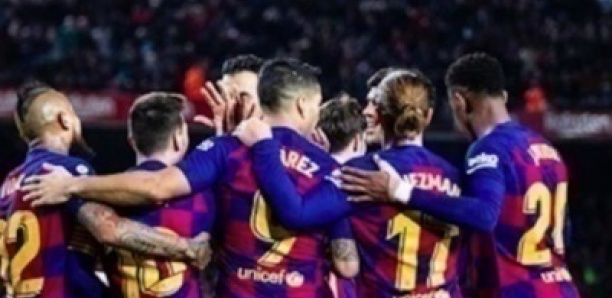 Cinq joueurs du Barça sont testés positifs au Covid-19