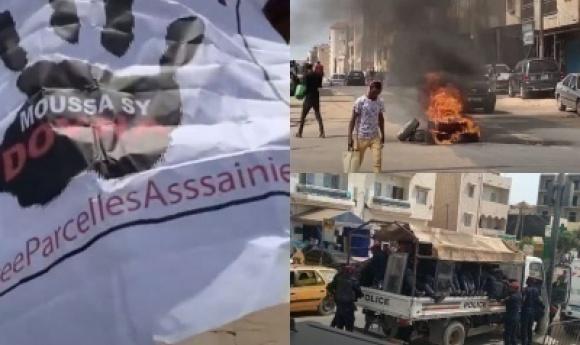 Parcelles Assainies : Des Jeunes S'opposent à La Caravane De Moussa Sy