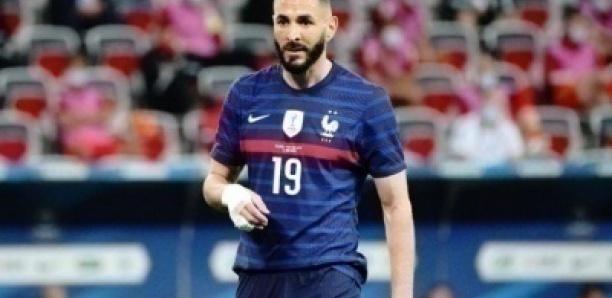 France: Voici pourquoi Karim Benzema joue avec un bandage à la main droite