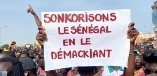 10 ans du M23 : La forte mobilisation du M2D au terrain Hlm Grand-Médine pour dire NON à la 3e candidature de Macky Sall