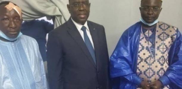 Abdoulaye Mbaye Pekh et Modou Bara Dolly reçus par le Président Macky Sall
