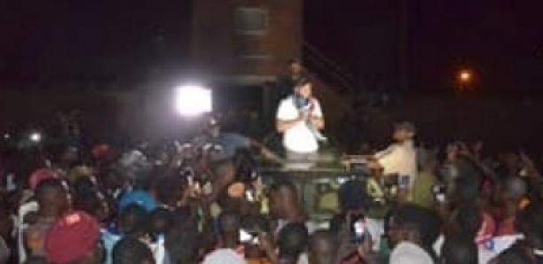 """Forte mobilisation """"Tournée Tibb Tank"""" : Bougane défie Macky à Ndioum"""