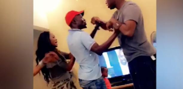 Match des lions, l'altercation entre Queen Bizz et Jahman de X press dans son salon