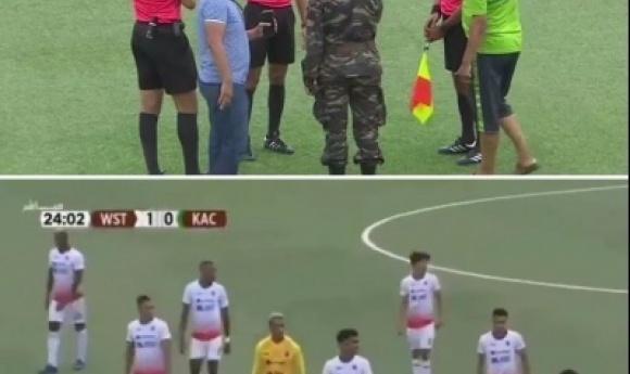 Covid 19 Au Maroc: La Police Arrête Un Match à La 23ème Minute