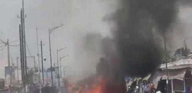 Marché HLM: Chaude matinée entre les policiers et les marchands ambulants