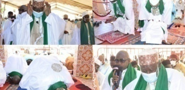 [Photo] Tabaski 2020 / Imam Thierno Seydou Nourou Tall :
