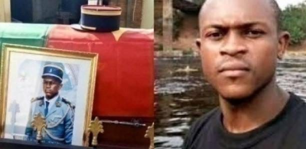 Voici le gendarme tué à Douala pour 100f CFA conduit à sa dernière demeure