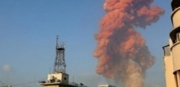 Explosion au Liban : forte déflagration dans la zone du port de Beyrouth
