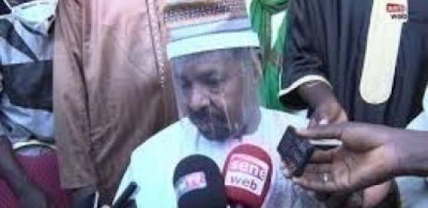 Inhumation du Khalife: Ahmed khalifa niasse,