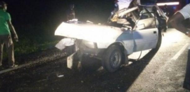 Ziguinchor : Un accident de la route fait 2 morts et 7 blessés