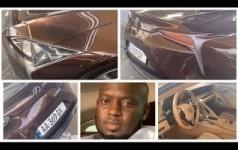 Découvrez La Superbe Nouvelle Lexus De Aziz Ndiaye