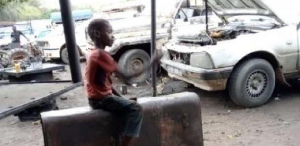 Mboro : Un camion chargé de latérite écrase la tête d'un jeune apprenti mécanicien de -10 ans.