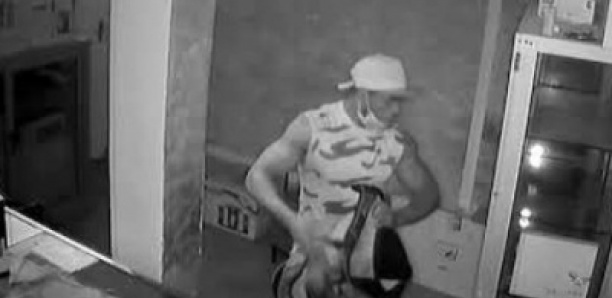Ouakam : Un voleur filmé en train de cambrioler une boutique