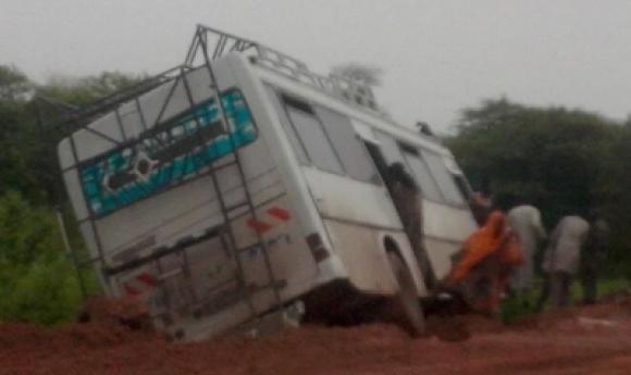 Mbour : Triste Fin Pour B. Thiaw écrasé Par Un Bus