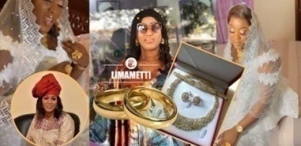 Mariage: Parure en or, robe de class, la styliste Mouna Création devient Mme Ndiaye