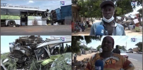 Fatick : Les circonstances du drame routier de Diouroup qui a fait une dizaine de morts (Témoins)