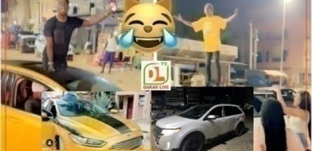 Guerre des voitures: pawlish mbaye bastonné par ouzin keita avec sa nouvelle voiture 4x4