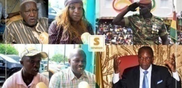 """Putsch en Guinée : Les ressortissants expriment leur """"joie"""" au marché Tiléne…"""