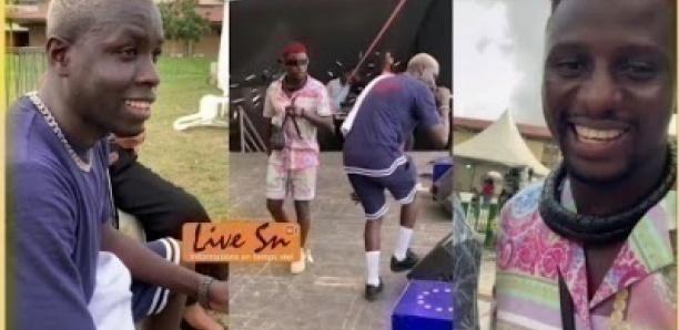 Ngaaka Blindé en pleine répétition avec Matadi pour un show a Abidjan