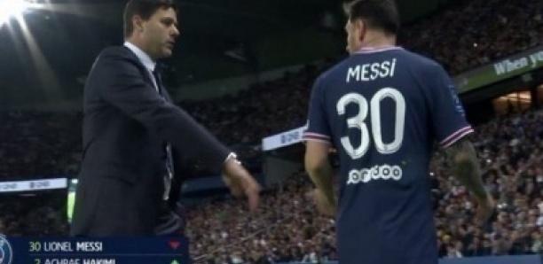 Ligue 1 Psg-Lyon: Pochettino révèle ce que Messi lui a dit après avoir été remplacé