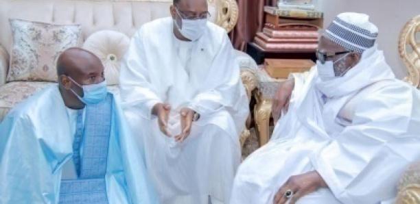 Touba: Réunion secrète entre Macky Sall, le Khalife des Mourides et Aly Ngouille Ndiaye