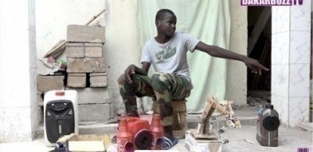 Fallou Sané 13ans, Il fabrique une lampe solaire pour alimenter leur maison « Damay Xalate Di Défar »