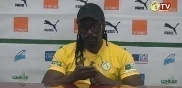 Equipe nationale: Aliou Cissé donne des indices sur son onze de départ
