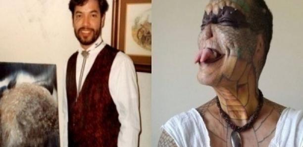 Un banquier qui a dépensé 71 000 euros pour devenir un « dragon humain » veut se faire couper le p*nis