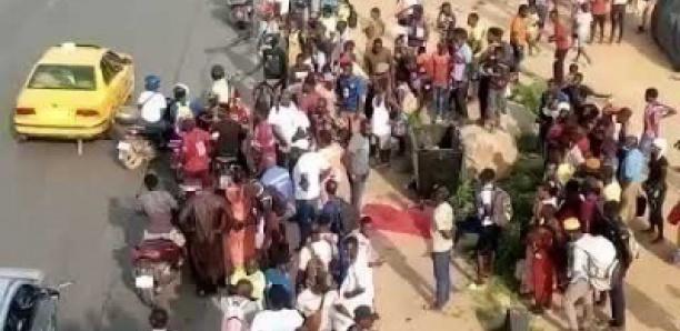 HLM Grand-Yoff: Un camion fou tue une fillette et finit sa course dans un parking de voitures